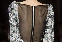 dettagli di moda: zip