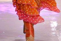 bohemian style couture in passerella