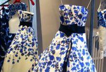 il blu e le sue sfumature di moda