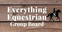 Everything Equestrian | Group Board / Share all your favorite equestrian & horse related pins! To get an invite please send your profile name to info@savvyhorsewoman.com.  *Limit of 3 pins per day.