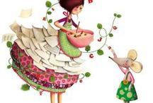 Ilustrações Marie Desbons