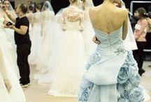 haute couture backstage: sposa