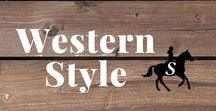 Western Style / Fun western style outfits and classic designs for Cowgirls. Plus boots of course :)