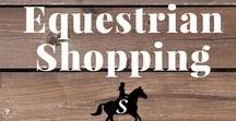 Equestrian Shopping / The latest equestrian and horse products available online for the savvy shopper!
