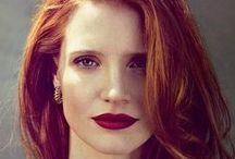 Vampy Lips / Berry red lips.