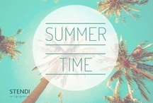 Summer Time / Summer fashion - skirt, shorts, maxi skirt, dress... #Stendi