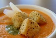 Soups + Olivia's Croutons / Soup and Croutons
