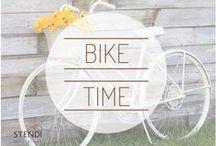 Bike Time / Crazy about bike! Fashion bike, bike chick #Stendi