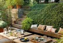 Área Externa -  (jardín, pileta, huerta)