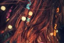 Hairstyles / redheads, dreads, hairstyles, haircuts