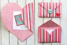 Valentine's Day / Cute crafts for the kiddos, yummy snacks, and fun Valentine's Day cards and treats!