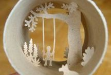 Miniature Worlds / Inspiring little worlds to get our imagination going #dioramas #small worlds http://sparkheadnewmedia.com/