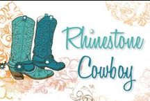 Rhinestone Cowboy / As we prepare for the Rhinestone Cowboy you can too! Let's see what amazing rhinestone studded cowboy attire we can find.