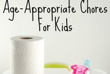 Spring Cleaning for kiddos / Keepin' it clean and teaching the kids to help!