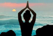 namaste / yoga is a balance to keep your mind and body functioning like a clean mean machine