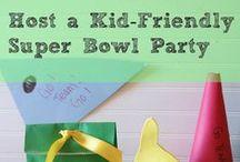 Super Bowl / Kid-friendly Super Bowl ideas