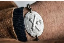 Military jewelry / Vintage Jewelry for men