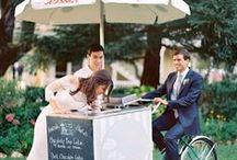 Wedding Ideas / Fun and cute ways to use our Boozy Liquor Ice Cream at weddings!