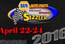 """NAPA Auto Parts Spring Sizzler & Fall Final / """"Greatest Race in the History of Spring"""""""