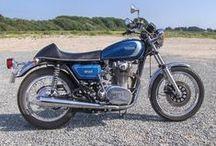 Yamaha XS 650 / Min totalt restaurerede Yamaha XS fra 1977