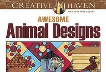 Dover And Creative Haven Coloring Books And 3D Books For Teens And Adults / Art And Hobby / by Nancy Jones
