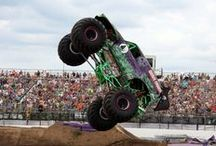Monster Jam Invades Stafford Speedway / The Official Monster Truck Series ~ MONSTER JAM at Stafford Speedway on July 25 & 26,2015 making it 26 consecutive years of family entertainment! #MonsterJam