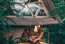 Tropical Retreat Anywhere / Tropical places that inspire you to create your own little retreat inside your home so you can forever escape to your favourite place