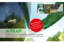 Horsefly trap - H-trap / H-trap, the professional horsefly control system. The H-trap system effectively controls horse fly numbers, reducing them to an absolute minimum.