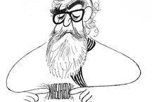 AL HIRSCHFELD is the MARGO FEIDEN GALLERIES LTD., NEW YORK / Art of Al Hirschfeld  / by AL HIRSCHFELD is the MARGO FEIDEN GALLERIES LTD., NEW YORK