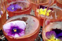 Floral drinks