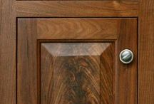 Cabinet Door Styles and Hardware / From the kitchen to the bath we can outfit your home with custom cabinetry.