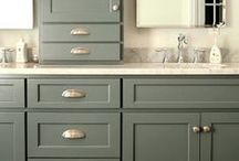 The Bath / Medicine cabinets, vanities, tub surrounds, shelving and storage