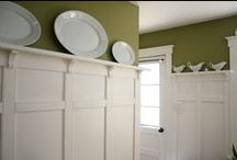 Interior Millwork / Built-in interior furnishings are a defining element that illustrates a sense of quality and craftsmanship in a home.