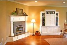 The Fireplace and Mantle / Built-in interior furnishings are a defining element that illustrates a sense of quality and craftsmanship in a home.