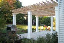 Millwork for the Garden / Pergola, trellis, gates and privacy fences