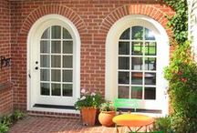 Doors / Many of today's homes are designed with large statement doorways in order to give an elegant first impression to visitors, to allow natural light into the home, and to increase curb appeal. We can create unique entryways – including doors, sidelights, transoms, and door surrounds – that will add beauty and distinction to your home.