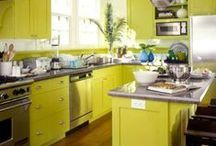 Cabinet Color Envy / Go bold or go home with a refreshing cabinet color pallet. Make your kitchen dream a reality with Seven Trees Woodworking LLC.