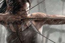 Lara Croft / Parce que en tant que gameuse , Lara Croft reste un modèle pour moi !