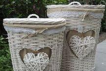 košíky a pletenie z papiera