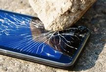 Cracked Phone Screens! / Phone Cases and Cracked Phone Screens