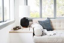 I N T E R I E U R // Skandinavisches Zuhause / Wenn es um Interior geht, schlägt mein Herz ganz eindeutig für skandinavisches Design. Klare, geometrische Formen, minimalistisch und hell. ♥