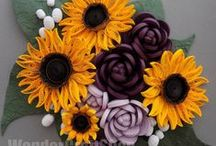Quilled Sunflowers / by GraftonPl