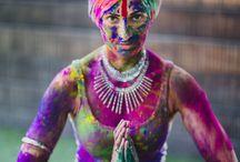Holi colour powder  photoshoot / Shilpa Reddy