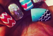 I love my nails!!!!!!! / Nail makeup!!!! / by Rose Marie Hernandez