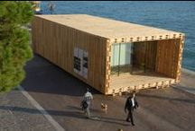 Pallet houses / Buildings made from pallets