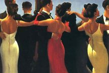 Jack Vettriano / I get my love for Jack Vettriano from my Mum!
