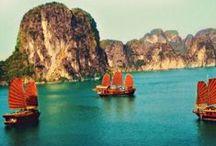 Far East / Travelling eastwards