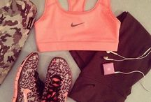 •Workout outfit