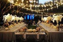 Длинные свадебные столы / Свадебная рассадка за длинными прямоугольными столами