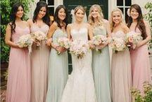 Свадьба в пастельных тонах